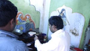 Cuisine Temple View Guest House Orccha India