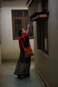 Lucie Brasseur écrivain voyageur journaliste au Népal Kathmandou