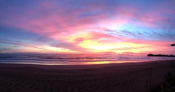 coucher de soleil à Koh Lanta 2